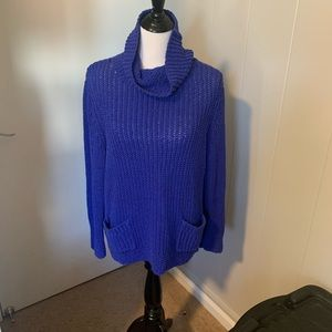Blue sweater with pockets Chico Size 3